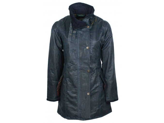 W47 Katrina womens NAVY wax jacket 1149x1800 (1)