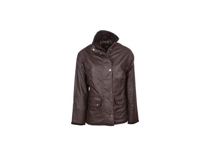 W03 Eltham womens BROWN wax jacket 250x