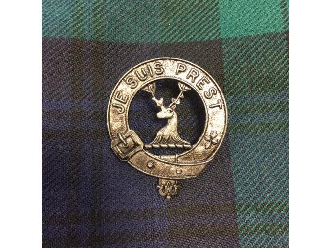 Odznak na glengarry Fraser clan – Lovat Scouts