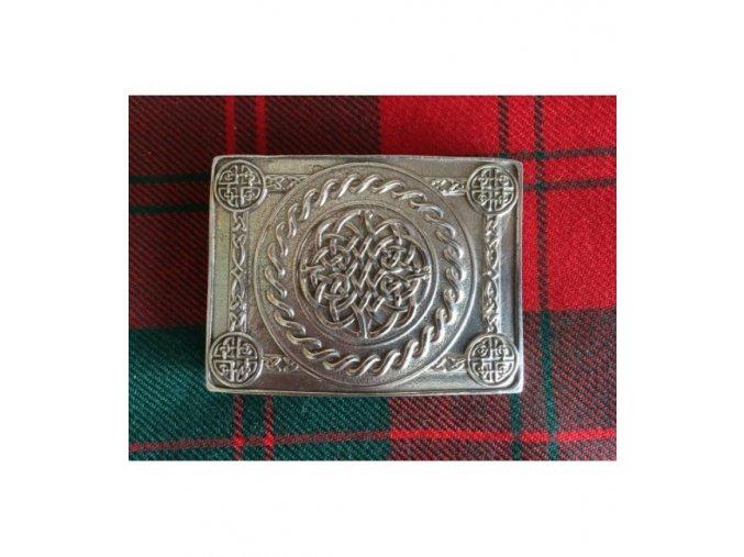spona na opasek celtic knot 4 dome