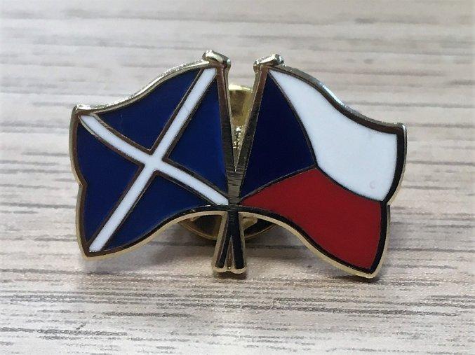 Odznáček CZ/Skotsko