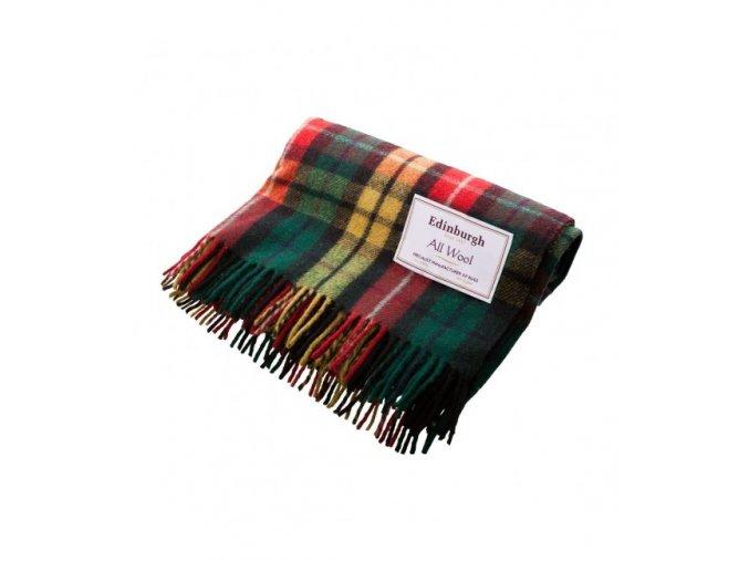 vlnena deka buchanan tartan