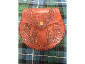 Sporran ručně šítý Inverness Bodlák