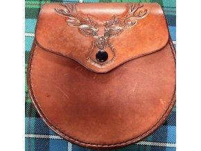 Sporran ručně šítý Iverness jelen