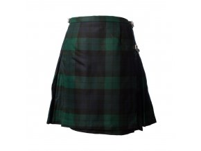 Ladies Deluxe Kilt Black Watch 5051774234912 main