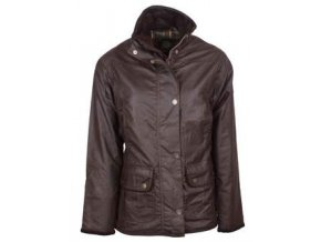 W03 Eltham womens BROWN wax jacket 250x