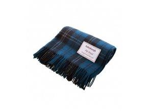 vlnena deka ramsay blue tartan