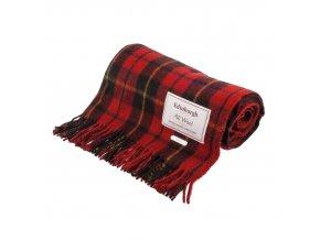 vlnena deka wallace tartan