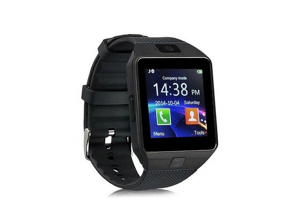 Erenbach Smartwatch DZ09 black  + ZDARMA ochranná folie na displej