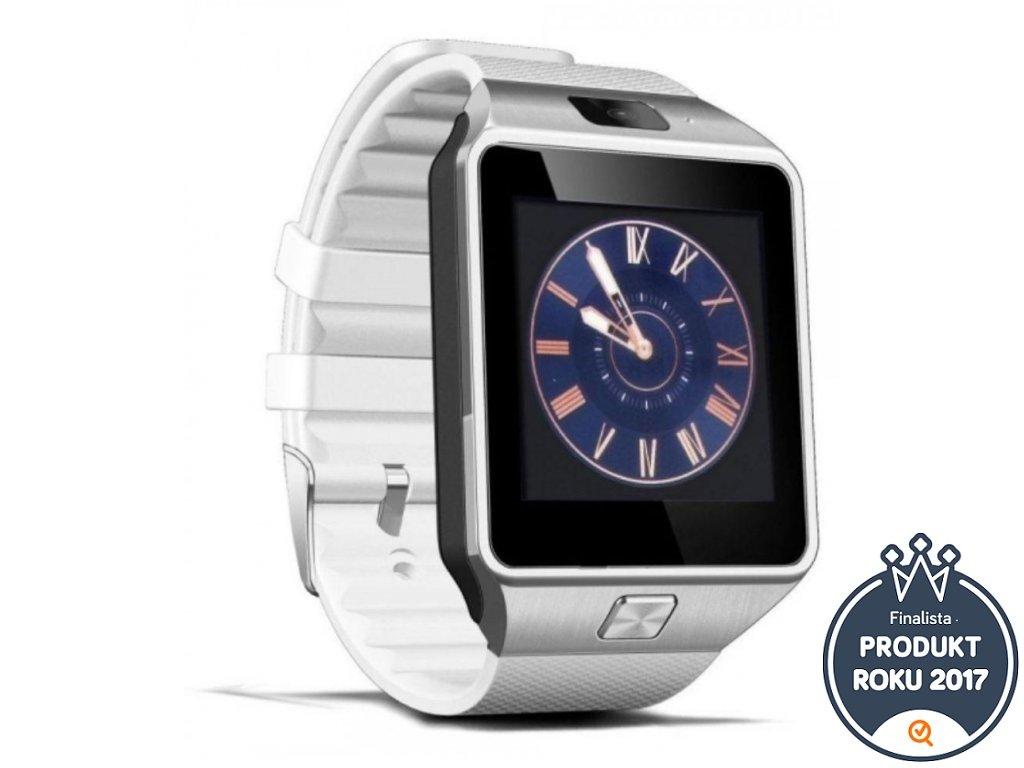 5d67d09bd Erenbach Smartwatch DZ09 white- multifunkční chytré hodinky ...