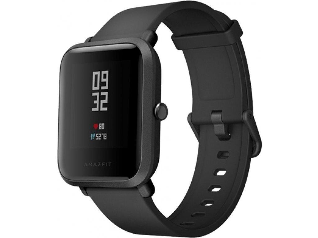 Xiaomi Amazfit Bip Black  + ZDARMA ochranná folie v hodnotě 99 kč