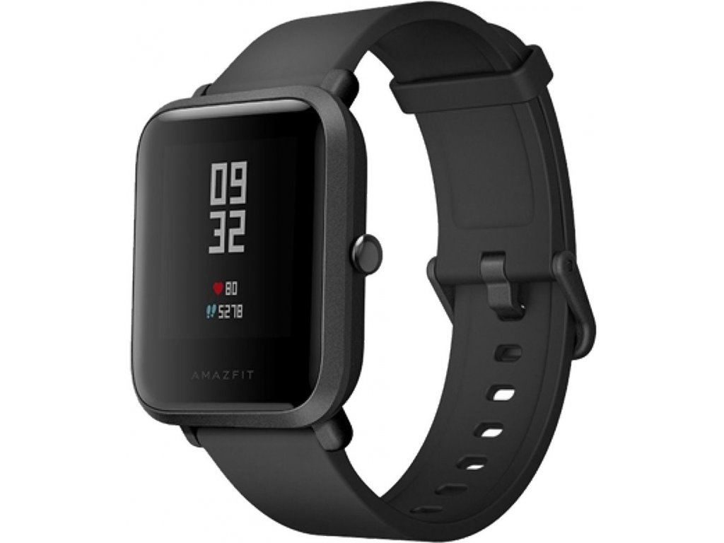 Xiaomi Amazfit Bip Black  + folie v hodnotě 99Kč zdarma