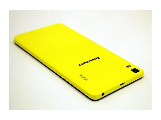 Zadní kryt baterie Lenovo K3 Note Yellow