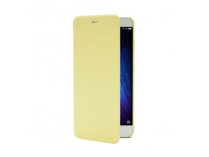 Xiaomi flipové pouzdro pro Mi5 Yellow