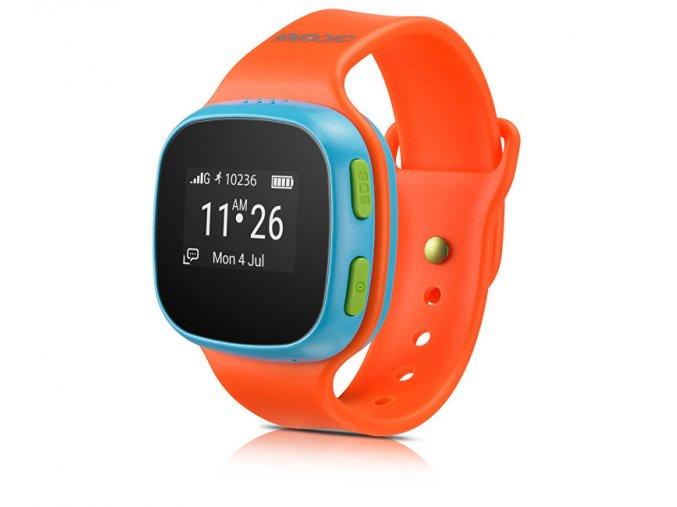 Alcatel Movetime Orange/Blue - použité zboží, nefunkční sim slot a nefunkční GPS