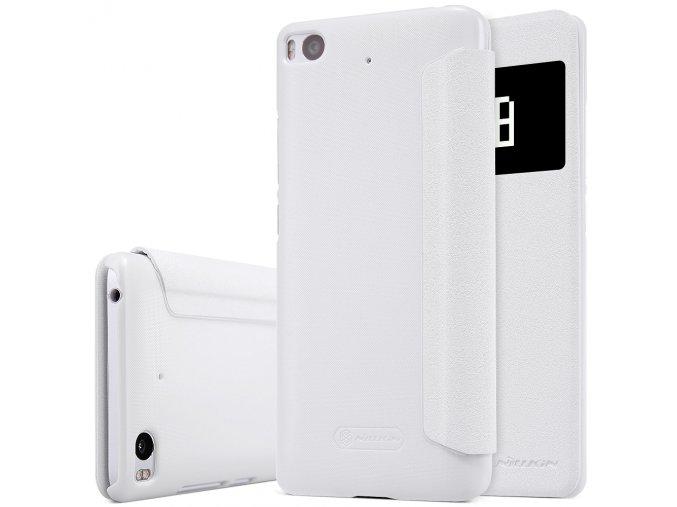 KG flipové pouzdro pro Xiaomi Mi5s (5001) White