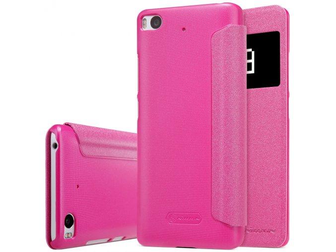 KG flipové pouzdro pro Xiaomi Mi5s (5001) Pink