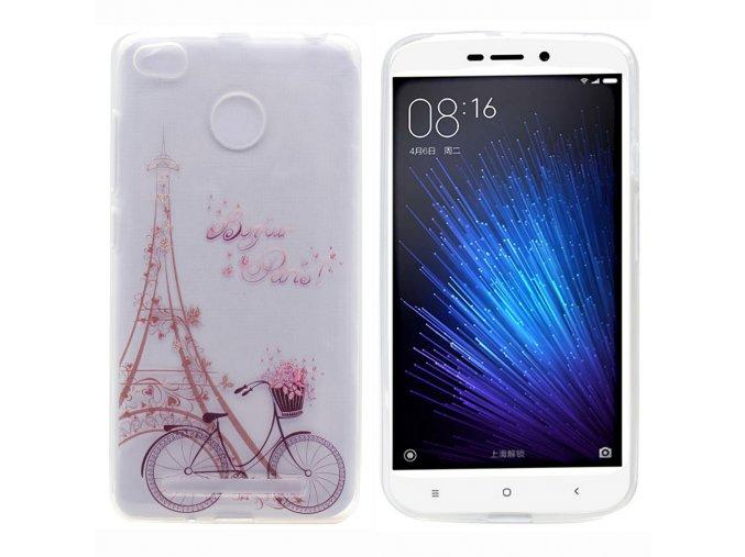 Silikonové pouzdro pro Xiaomi Redmi 3S/3 Pro   Paris