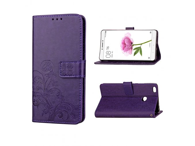 KG pouzdro Wallet Style pro Xiaomi Mi Max (5004) Purple