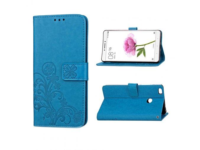 KG pouzdro Wallet Style pro Xiaomi Mi Max (5004) Blue