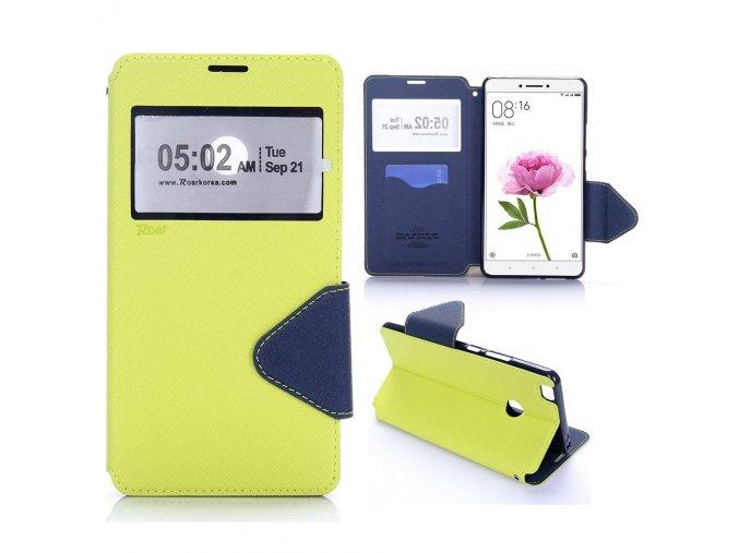 KG pouzdro Wallet Style pro Xiaomi Mi Max (5003) Green
