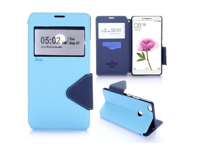 KG pouzdro Wallet Style pro Xiaomi Mi Max (5003) Blue
