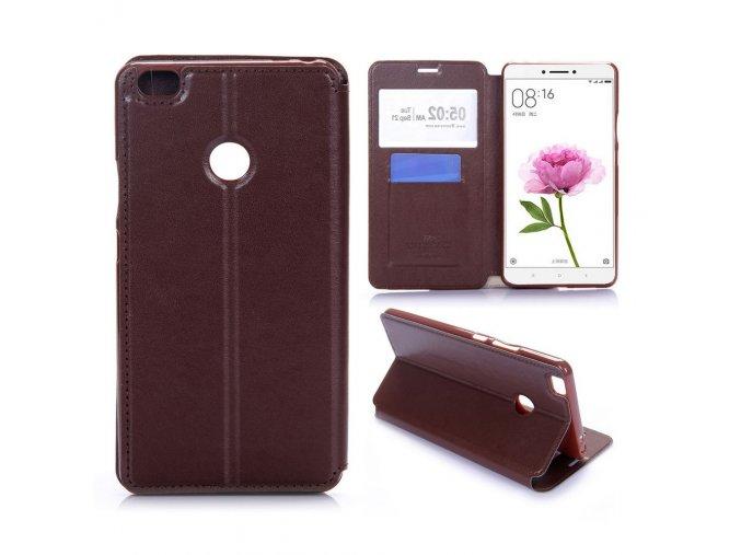 KG flipové pouzdro pro Xiaomi Mi Max (5002) Brown