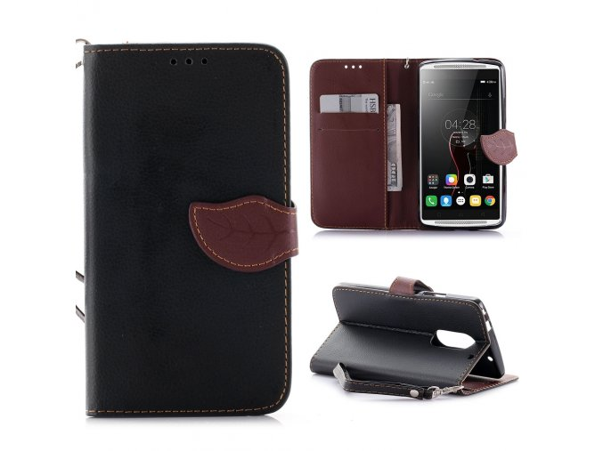 KG pouzdro Wallet Style Lenovo Vibe X3 (5001) Black