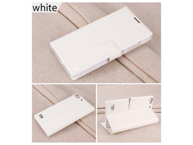 KG pouzdro Wallet Style Lenovo Vibe X2 (5002) White