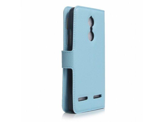 KG pouzdro Wallet Style Lenovo K6 (5001) Baby Blue