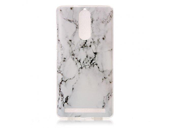 Silikonové pouzdro pro Lenovo K5 Note | Marble
