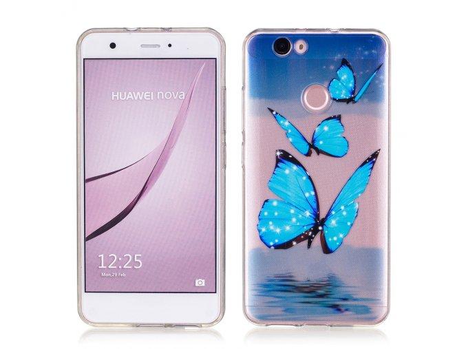 Silikonové pouzdro pro Huawei Nova | Butterfly