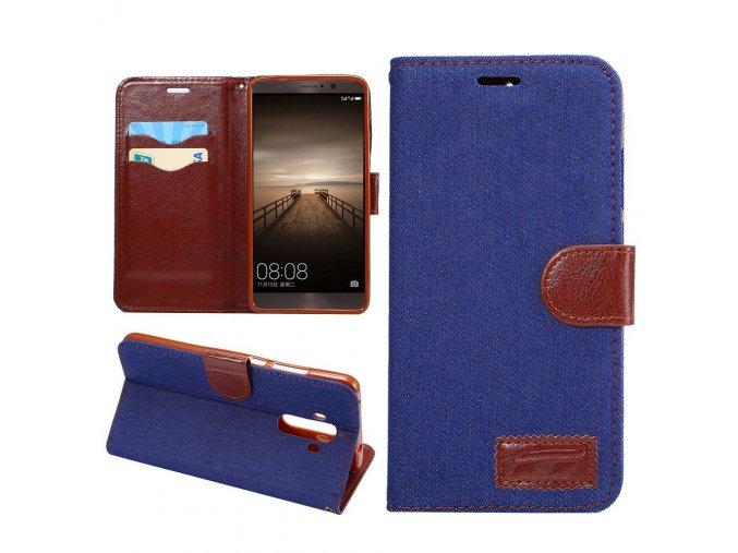 KG pouzdro Wallet Style Huawei Mate 9 (5006) Blue