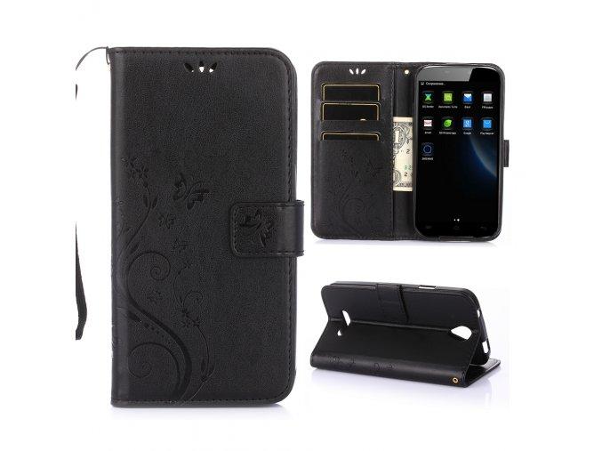 KG pouzdro Wallet Style Doogee X6 (5002) Black