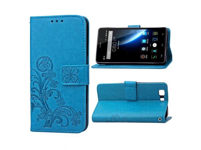 KG pouzdro Wallet Style Doogee X5 (5004) Blue