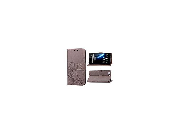 KG pouzdro Wallet Style Doogee X5 (5004) Light Brown