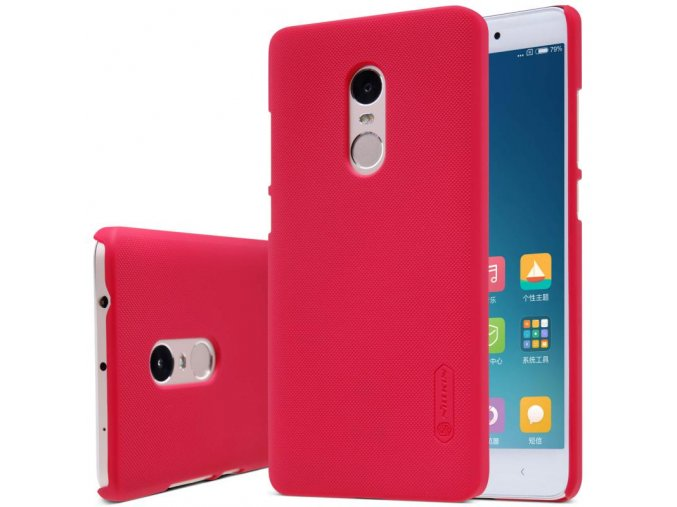 Pouzdro Nillkin Frosted Shield Xiaomi Redmi Note 4/4X Red