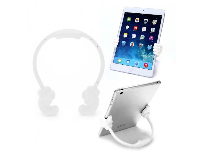 KG plastový stojánek pro iPhone, iPad (1145) White