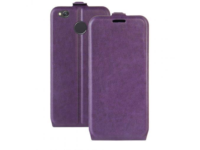 Flipové pouzdro pro Xiaomi Redmi 4X | Purple