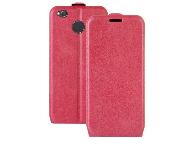 Flipové pouzdro pro Xiaomi Redmi 4X | Dark Pink