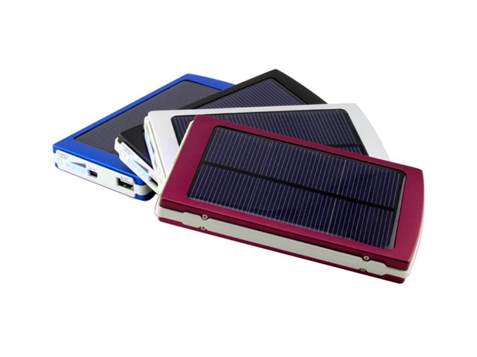 KG Solar Power Bank 10000mAh (SC-10000) Red