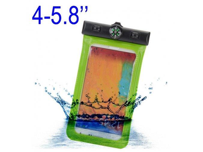KG univerzální vodotěsné pouzdro (7285) Green