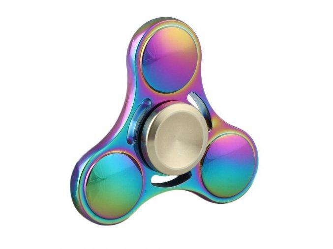 Barevný fidget spinner 3 ložiska