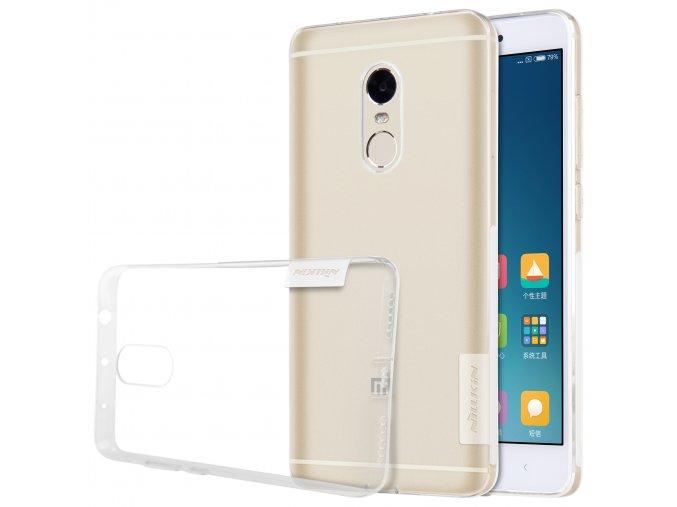 Silikonové pouzdro Nillkin Nature Xiaomi Redmi Note 4/4X White