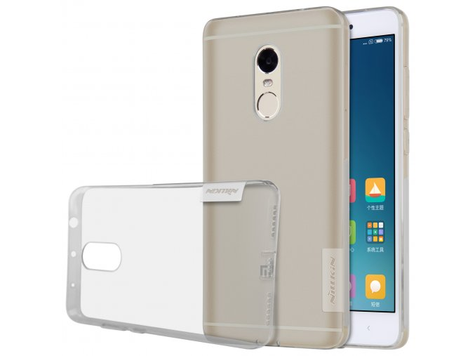 Silikonové pouzdro Nillkin Nature Xiaomi Redmi Note 4/4X Grey