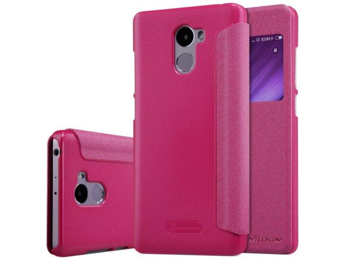 Pouzdro Nillkin Sparkle Xiaomi Redmi 4 Pink