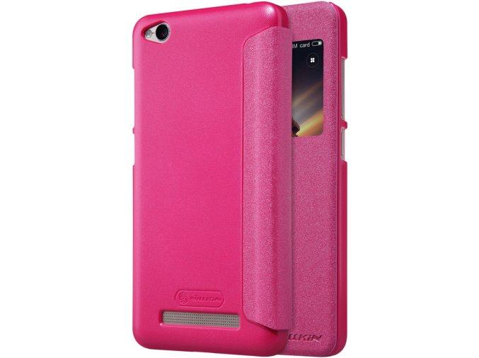 Pouzdro Nillkin Sparkle Xiaomi Redmi 4A Pink