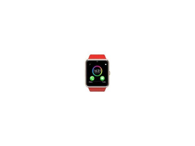SmartWatch GT08 red  + ochranná fólie za 69 kč ZDARMA