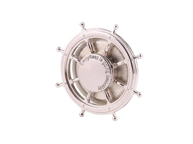 KG Fidget Hand Spinner Wheel Silver