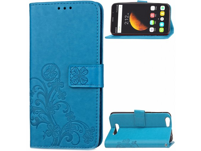 KG pouzdro Wallet Style Cubot Dinosaur (5001) Blue